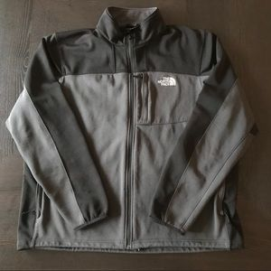 NORTHFACE ZIP-UP JACKET SIZE XL